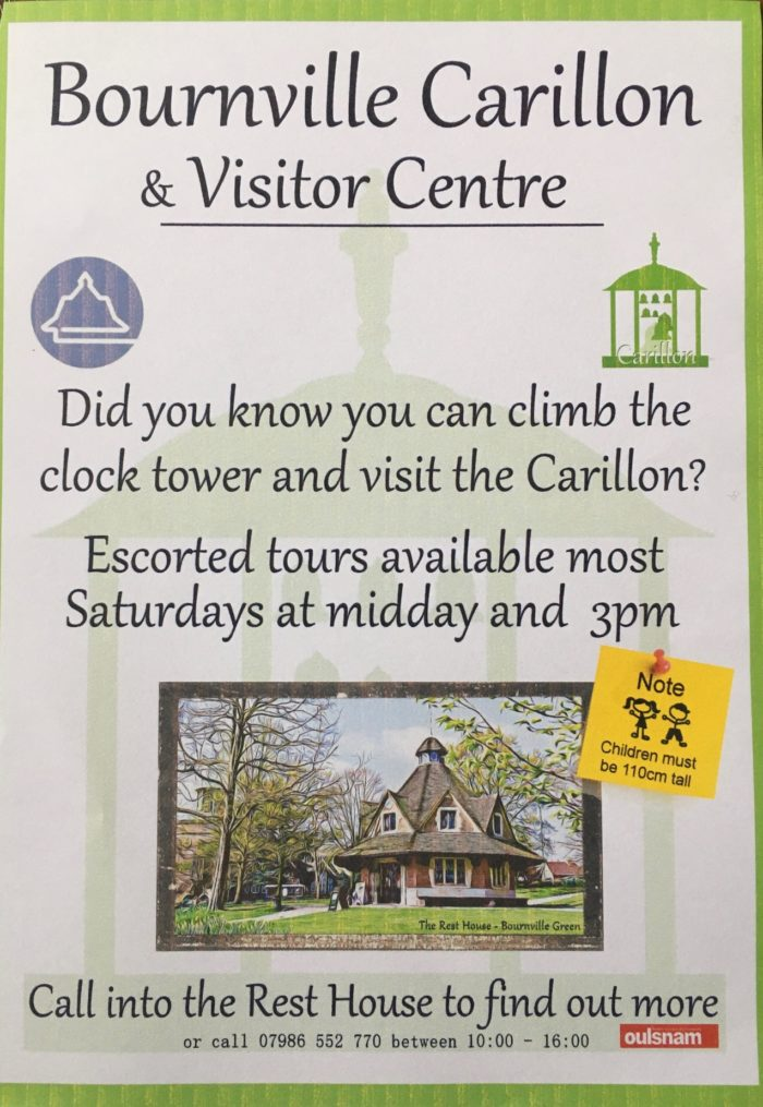 Bournville Carillon and Visitor Centre poster