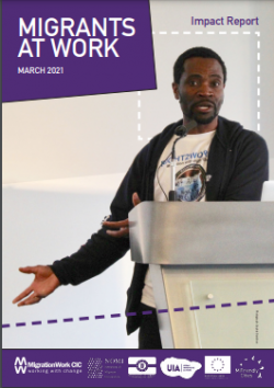 Migrants At Work impact report front cover